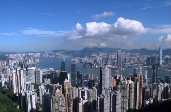 Panorama Hongkong Ritz-Carlton Hotel