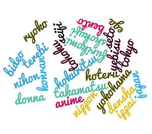Japanische Worte