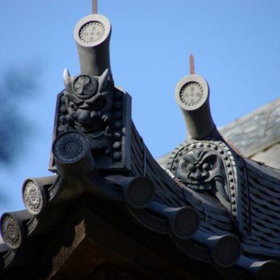Architektur Japans Dach