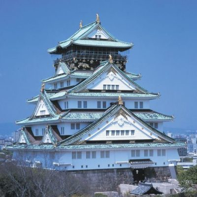 Architektur Japans Schloss