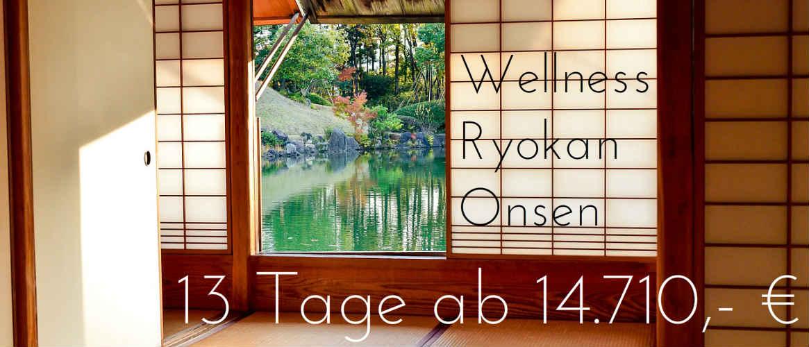 Japans Wellness Ryokan und Onsen