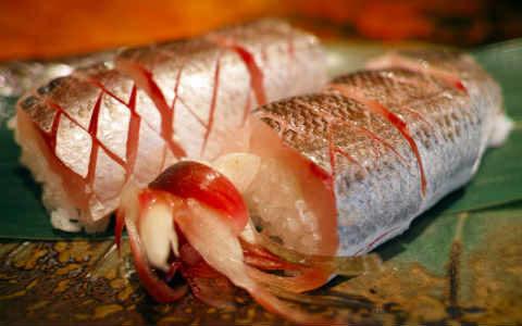 Japanisches Essen Fisch