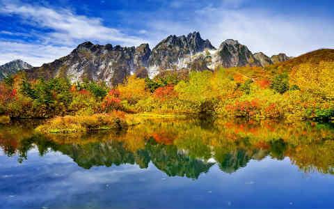 Privatreise Japans Herbst