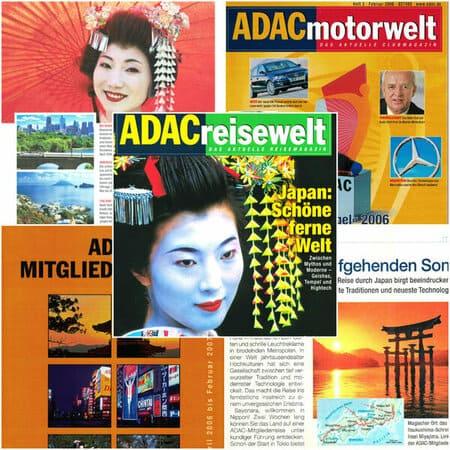 ADAC Motorwelt und ADAC Reisewelt Titelbilder